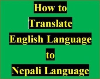 How to Translate English Language to Nepali Language Learning online class
